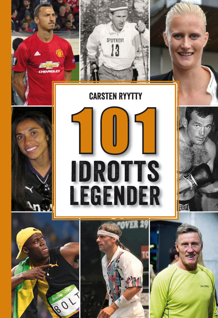 Book Cover: 101 idrottslegender