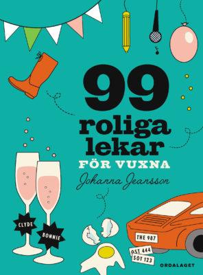 Book Cover: 99 roliga lekar för vuxna