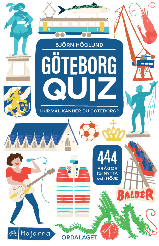 Book Cover: Göteborgquiz – Hur väl känner du Göteborg?