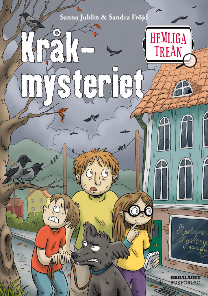 Book Cover: Hemliga trean - Kråkmysteriet