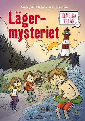Book Cover: Hemliga trean – Lägermysteriet