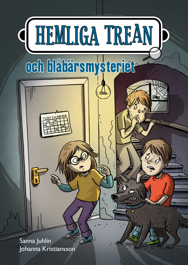 Book Cover: Hemliga trean och blåbärsmysteriet