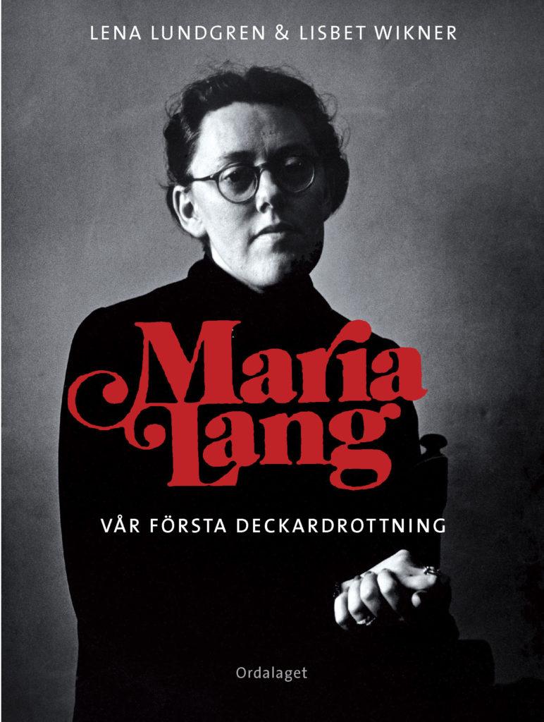 Book Cover: Maria Lang – vår första deckardrottning