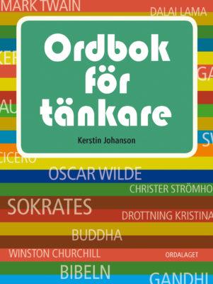 Book Cover: Ordbok för tänkare