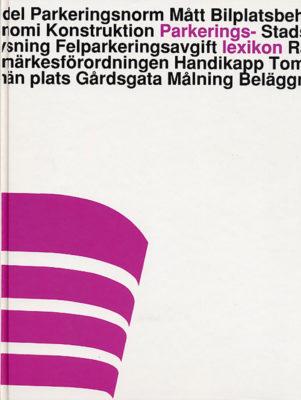 Book Cover: Parkeringslexikon