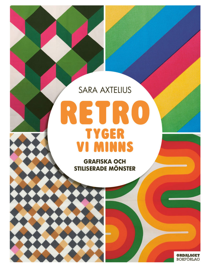 Book Cover: Retro – Tyger vi minns – grafiska och stiliserade mönster
