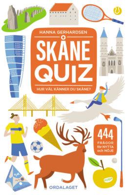 Book Cover: Skånequiz – 444 frågor om Skåne