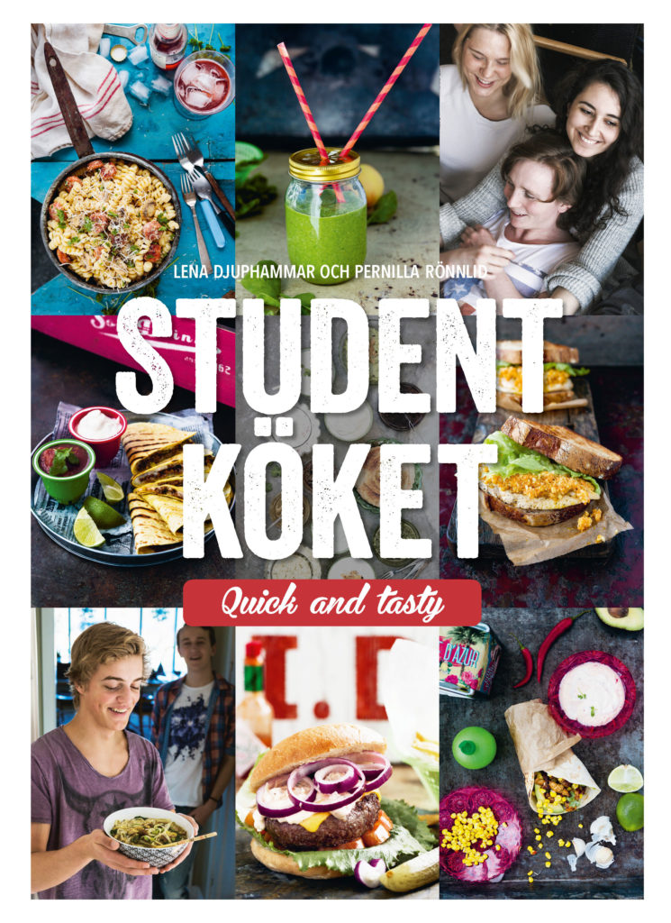 Book Cover: Studentköket – quick and tasty