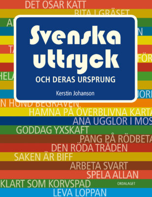 Book Cover: Svenska uttryck och deras ursprung
