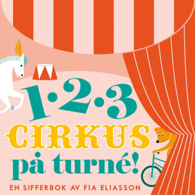Book Cover: 123 cirkus på turné