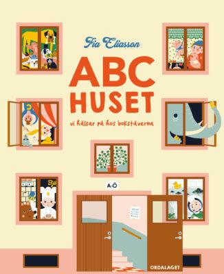 Book Cover: ABC-huset - Vi hälsar på hos bokstäverna