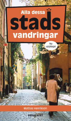 Book Cover: Alla dessa stadsvandringar
