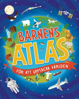 Book Cover: Barnens atlas för att upptäcka världen