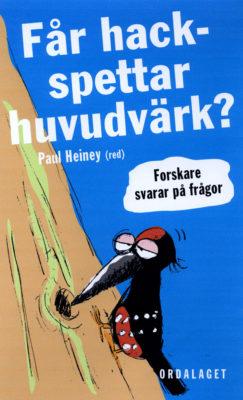 Book Cover: Får hackspettar huvudvärk?
