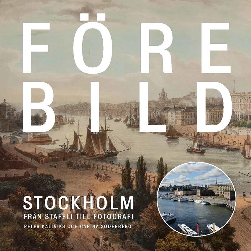 Book Cover: Förebild Stockholm: Från staffli till fotografi