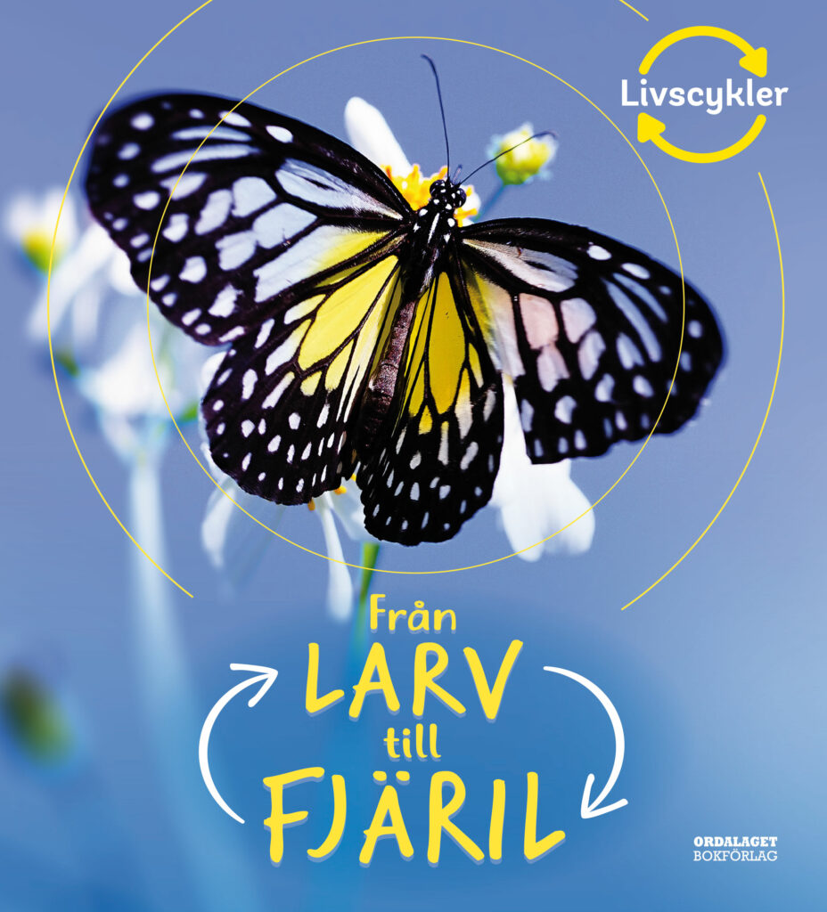 Book Cover: Från larv till fjäril