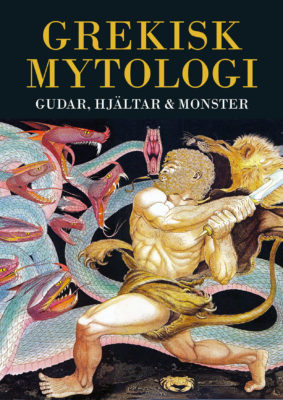 Book Cover: Grekisk mytologi – Gudar, hjältar & monster