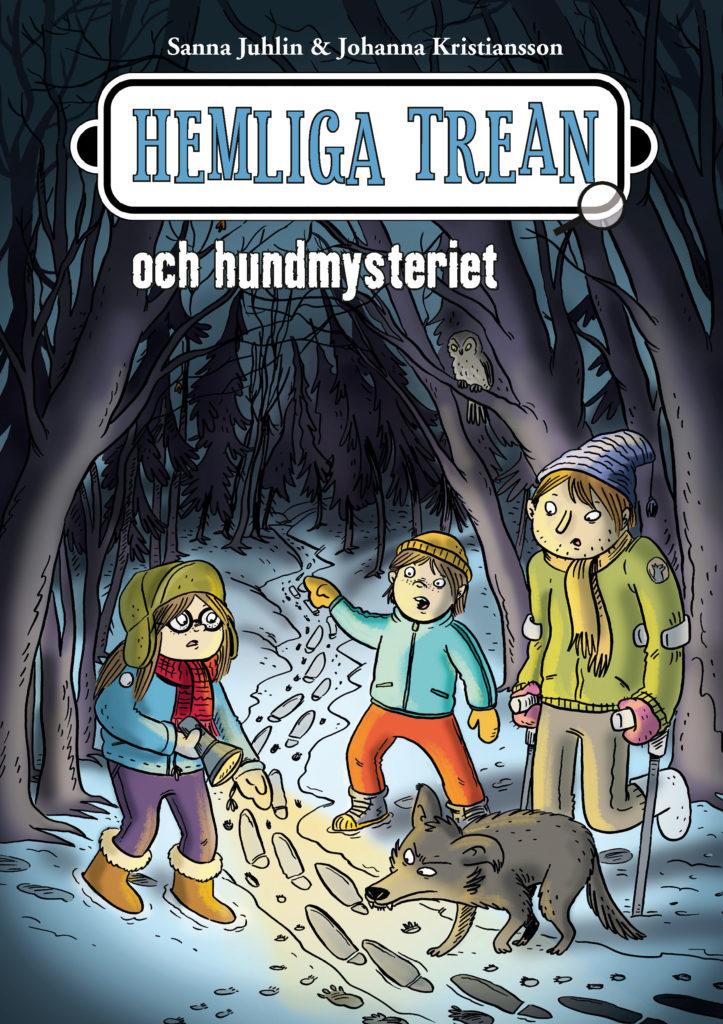 Book Cover: Hemliga trean och hundmysteriet