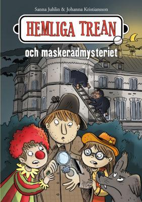 Book Cover: Hemliga trean och maskeradmysteriet