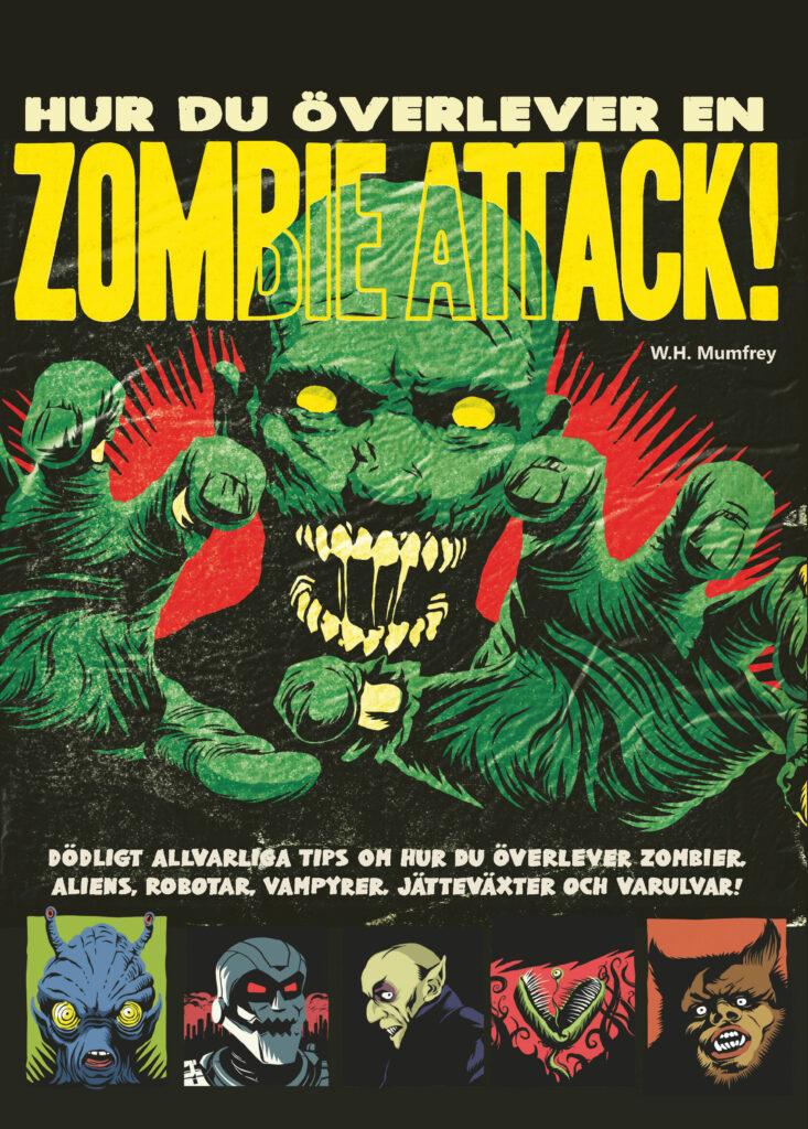 Book Cover: Hur du överlever en zombieattack