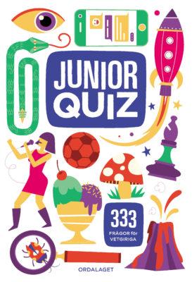 Book Cover: Juniorquiz – 333 frågor för vetgiriga