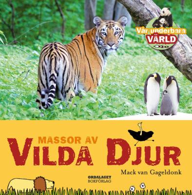 Book Cover: Massor av vilda djur