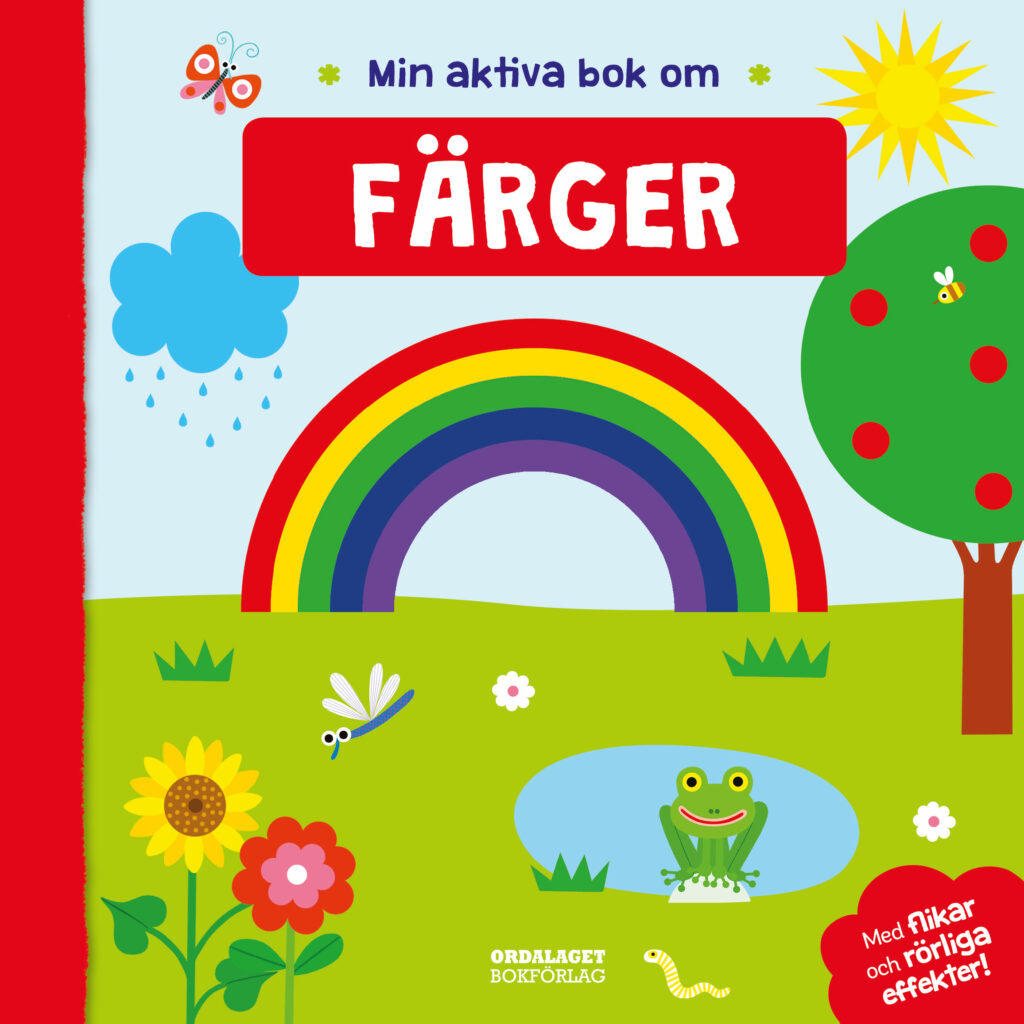 Book Cover: Min aktiva bok om färger