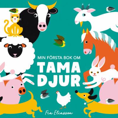 Book Cover: Min första bok om tama djur