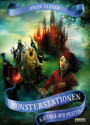 Book Cover: Monsterstationen: Katinka och pesten