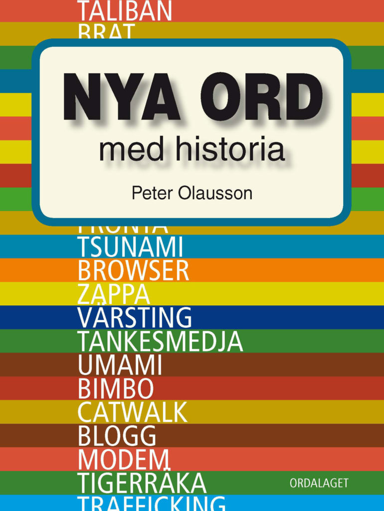 Book Cover: Nya ord med historia