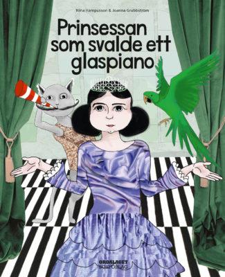Book Cover: Prinsessan som svalde ett glaspiano