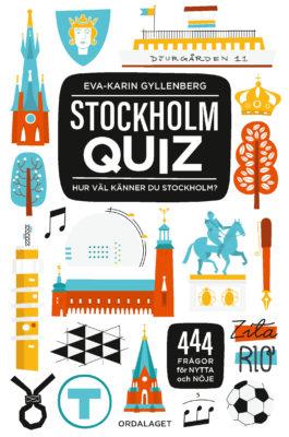 Book Cover: Stockholmquiz – Hur väl känner du Stockholm?