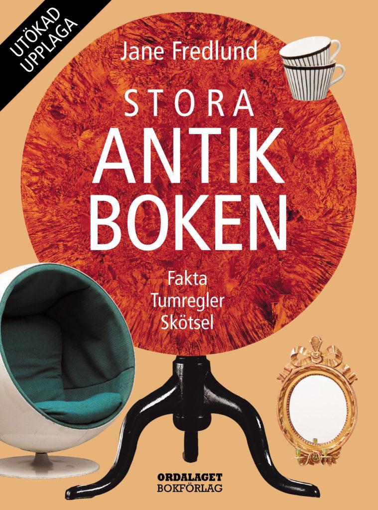 Book Cover: Stora antikboken – Fakta, tumregler, skötsel