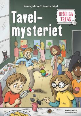 Book Cover: Hemliga trean: Tavelmysteriet