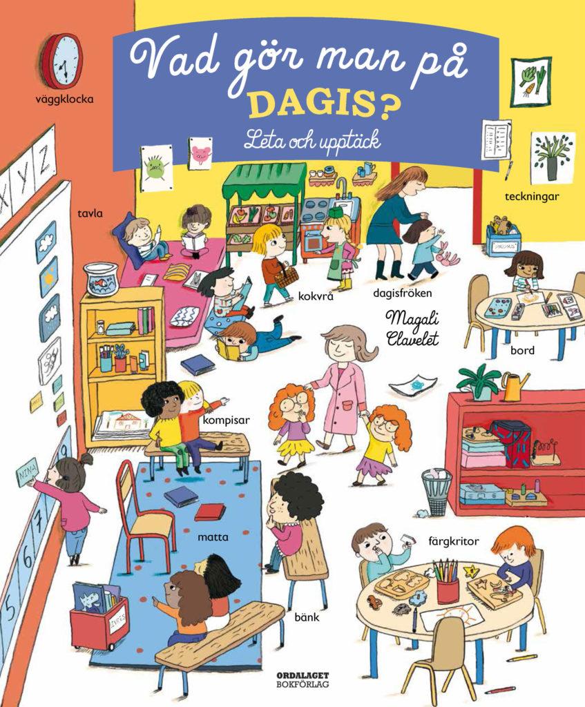 Book Cover: Vad gör man på dagis?