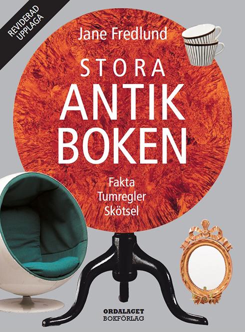 Book Cover: Stora antikboken (reviderad)