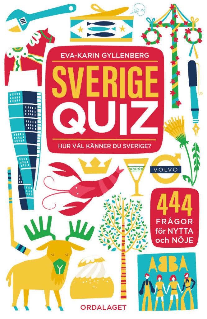 Book Cover: Sverigequiz – Hur väl känner du Sverige?